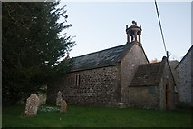 ST5906 : St Edwold's Church, Stockwood by Becky Williamson