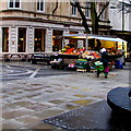 ST3188 : Outdoor fruit & vegetables stall in Newport city centre by Jaggery