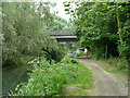 TQ0380 : Bridge 3, Slough Arm, Grand Union Canal by Robin Webster