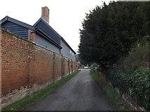TM3863 : Lane near Wintergreen House by Geographer