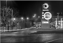 J5081 : Petrol station, Bangor by Rossographer