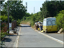 TQ0485 : Willetts Lane by Robin Webster