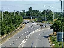 TQ0485 : Part of Denham Roundabout by Robin Webster