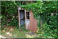 SO1999 : Corrugated iron cabin by the Montgomery Canal at Garthmyl by Phil Champion