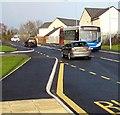ST2997 : X24 bus, Avondale Road, Pontypool by Jaggery