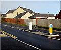 ST2997 : Pedestrian refuge in Avondale Road, Pontypool by Jaggery