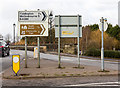 SP2054 : Approach to Clopton Bridge, Stratford-upon-Avon by David P Howard