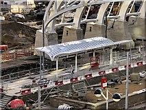 SJ8499 : New Metrolink Platform Under Construction at Victoria Station by David Dixon