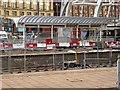 SJ8499 : Manchester Victoria Station, New Metrolink Platform Under Construction (January 2015) by David Dixon