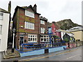 TQ8209 : Dolphin Inn, Rock-A-Nore Road, Hastings by PAUL FARMER