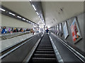 TQ2991 : Escalator, Bounds Green Station, London N11 by Christine Matthews