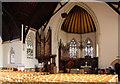 TQ3173 : Holy Trinity, Tulse Hill - Interior by John Salmon