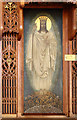 TQ3173 : Holy Trinity, Tulse Hill - Reredos detail by John Salmon