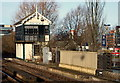 SK9771 : East Holmes Signal Box, Brayford Waterfront Vicinity, Lincoln by David Hallam-Jones