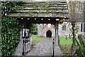 TQ2441 : Lych gate, church of St Nicholas by N Chadwick