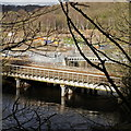 SE2436 : Kirkstall Forge Railway Bridge and work for Kirkstall Forge Station by Rich Tea