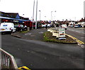 ST3090 : Entrance road to Malpas Road shops, Newport by Jaggery