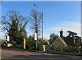 SU8480 : Gates to Woolley Hall by Des Blenkinsopp