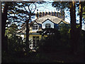 SX9473 : A glimpse of Cambrian House, 81 Dawlish Road, Teignmouth by Robin Stott