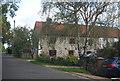TG1309 : Flint built house, Bawburgh Road by N Chadwick