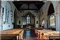 TQ5446 : Interior, St Mary's church, Leigh by Julian P Guffogg