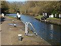 TQ0586 : Denham Lock basin by Alan Hunt