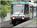 SD8010 : Metrolink T-68 Tram at Bury Interchange by David Dixon