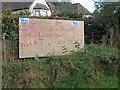 NH7339 : Referendum poster, Craggiemore by Richard Webb