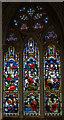 TQ8109 : Apse N.E. Stained glass window, Holy Trinity church, Hastings by Julian P Guffogg