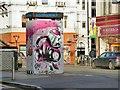 SJ8498 : Street Art by Ruby Heart by Gerald England