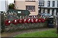 SM7525 : Memorial to Lifeboatman Ieuan Bateman by Ian S