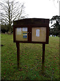 TM4261 : St.Lawrence Church Notice Board by Adrian Cable