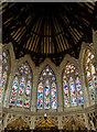 TQ8109 : Apse windows, Holy Trinity church, Hastings by Julian P Guffogg