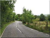 J0125 : Bends on the northern section of Hall Road by Eric Jones