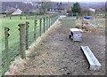 SE0722 : Feeding station on Sowerby Bridge FP82 near Binn Royd by Humphrey Bolton