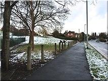 SJ8545 : Hartshill: Albany Road by Jonathan Hutchins
