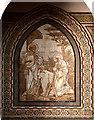 TQ2874 : The Ascension, Balham - Reredos detail by John Salmon