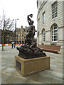 "SJ8397 : ""Adrift"" outside Central Library by Stephen Craven"