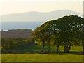 NY0840 : Farmland, Allerby by Andrew Smith