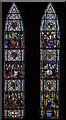 SK9771 : Stained glass window, Chapter house, Lincoln Cathedral by J.Hannan-Briggs