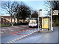 SD8500 : Bus Stop on Rochdale Road by David Dixon