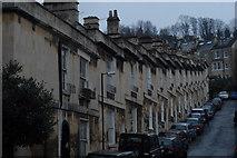 ST7566 : Brunswick Street, Bath by John Winder
