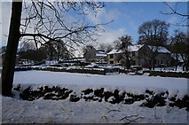 SK1272 : Buildings at Blackwell Dale by Ian S