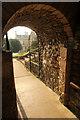 SK9771 : Palace passage by Richard Croft