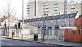 J3373 : Vacant site, Sandy Row, Belfast (February 2015) by Albert Bridge