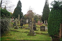 TQ5937 : Kent and Sussex Cemetery by N Chadwick