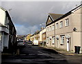 ST2998 : North along Commercial Street, Griffithstown, Pontypool by Jaggery