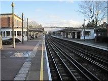 TQ1684 : Sudbury Town Underground station, Greater London by Nigel Thompson