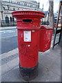 TQ3884 : Stratford: postbox № E15 1, Broadway by Chris Downer