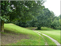 TQ3370 : Path, Crystal Palace Park by Robin Webster
